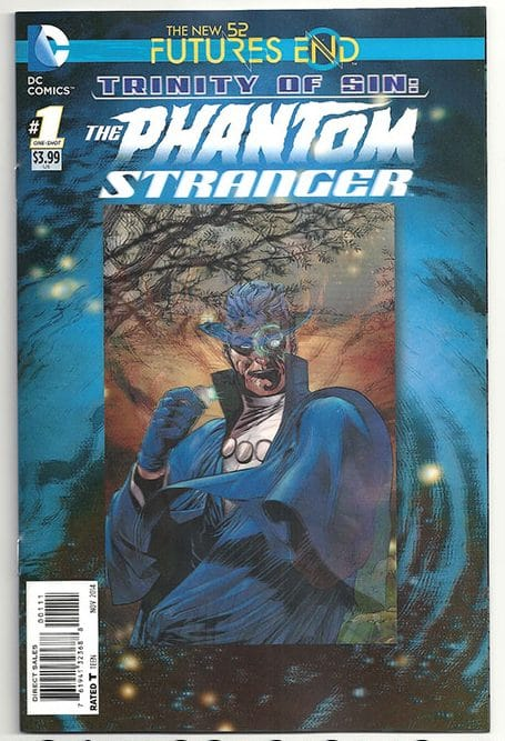 DC Futures End Trinity of Sin the Phantom Stranger Lenticular 3D New 52 NM